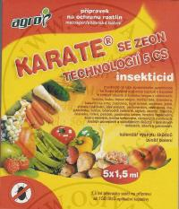 KARATE ZEON  5 SC 5 x 1,5 ml